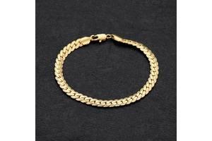 Новые Позолоченные мужские браслеты