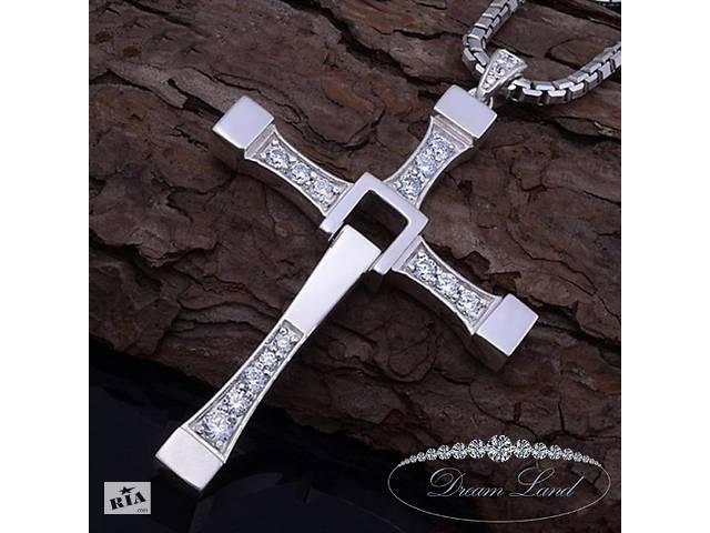 бу Стильный крестик из нержавеющей медицинской сталі, Steel мужской, женский, для мужчин, для парня в Червонограде