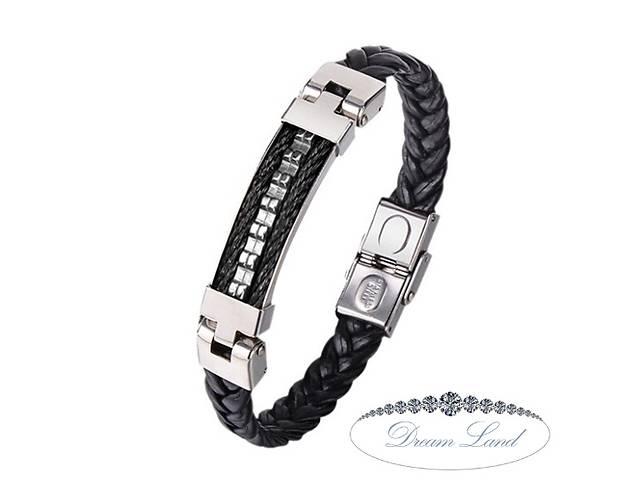 купить бу Стильный мужской браслет со стали на силиконовом ремешке, подарок для парня или девушки, любимому и любимой сюрприз в Червонограде