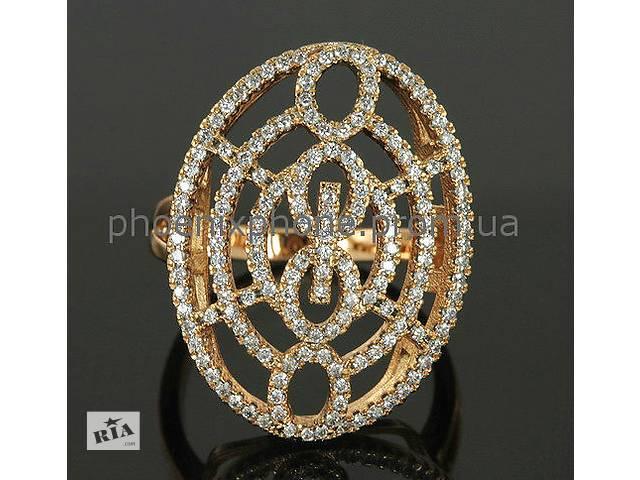 продам Видное кольцо с фианитами 85fb0a13dc8d7