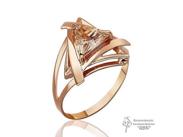 продам Золотое кольцо с фианитом бу в Конотопі