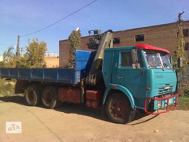 продам Грузоперевозки КАМАЗ с краном-маннипулятором до 10т. бу в Киевской области