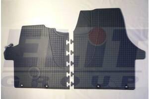 Гумові килимки VW Transporter T5 '03- (ELIT) 2 шт