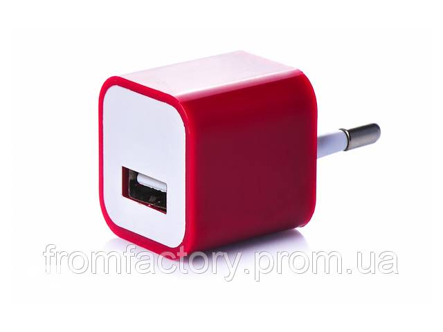 Блок питания 5Вт/1А (USB, разные цвета) 5:Красный- объявление о продаже  в Харькове