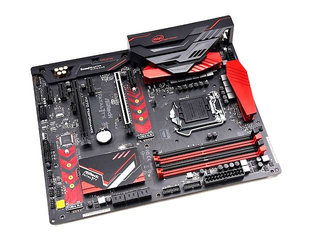 продам Материнская плата AsRock FATAL1TY H270 PERFORMANCE (s1151, Intel H270) бу в Казатине