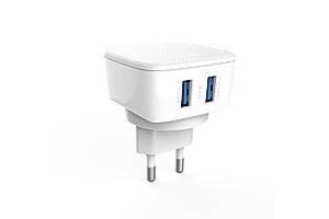 Сетевой Адаптер (зарядное устройство) LDNIO DL-AC66 2xUSB 2.4A + кабель micro USB