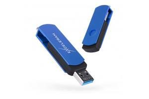 USB флеш накопитель eXceleram 128GB P2 Series Blue/Black USB 3.1 Gen 1 (EXP2U3BLB128)
