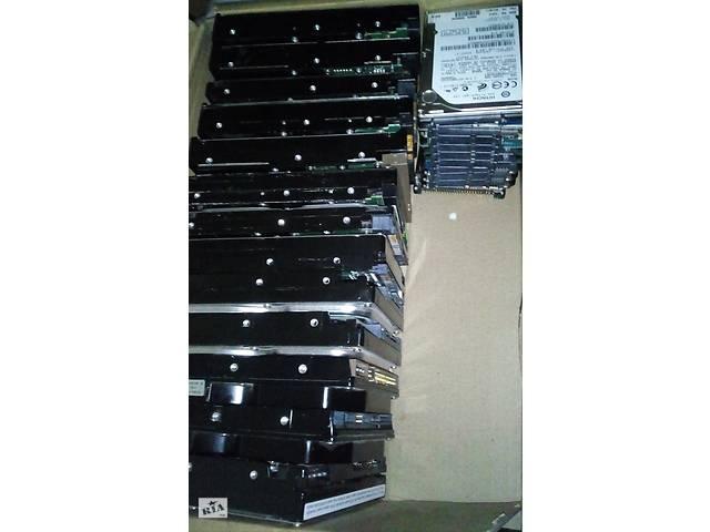 Жёсткий диск Hdd нерабочий 23шт одним лотом- объявление о продаже  в Каменском (Днепродзержинск)