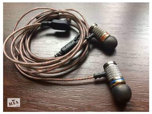 продам проводные наушники Kz Ed2 гарнитуры в луганске на Riacom