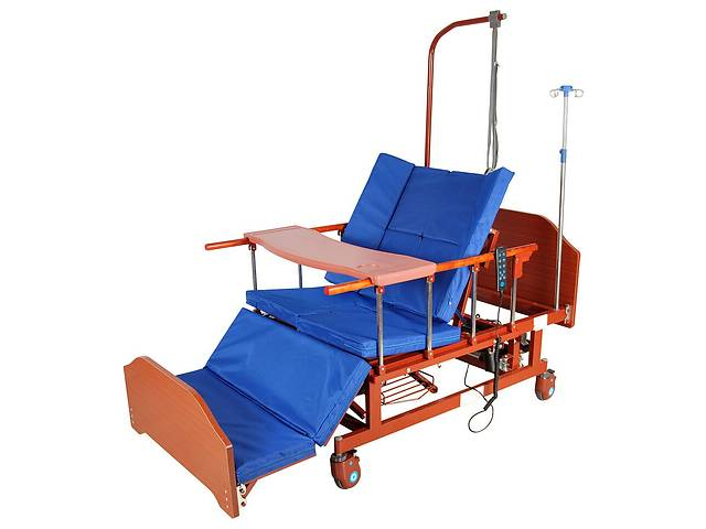 купить бу Кровать электрическая DB-11А Праймед с боковым переворачиванием, туалетным устройством и функцией «кардиокресло» в Львове