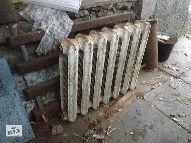 купить бу Чугунные радиаторы в Виннице