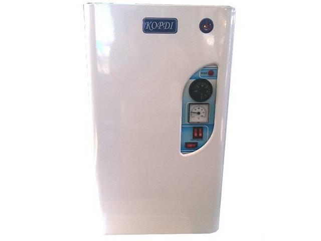 продам Электро котел КОРДИ КЕВ 4 кВт 220 В 2 тэна-2+2 кВт, настенный, насос, подключение 3\4 бу в Харькове