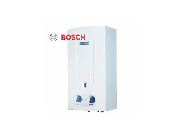 купить бу Газовая колонка BOSCH therm 2000 W 10-KB дымоходная, автомат(батарейки), без модуляции в Киеве