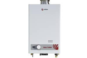 Новые Проточные газовые водонагреватели Roda