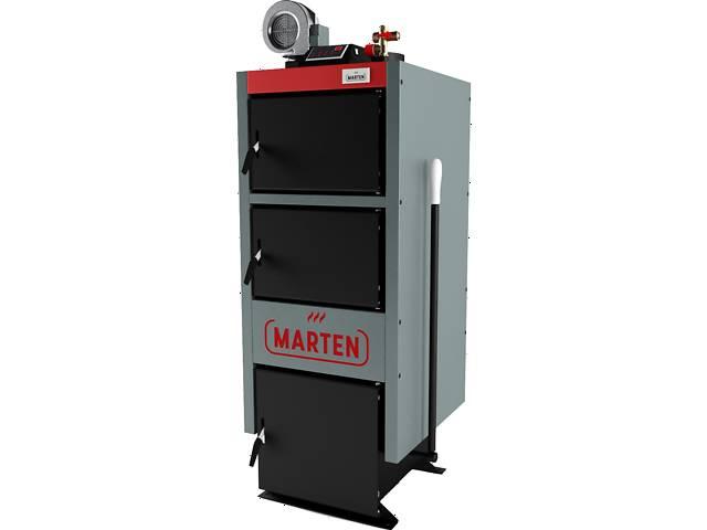 купить бу Котел длительного горения , твердотопливный Marten Comfort 12 кВт площадь отопления до 120 м2 в Одессе