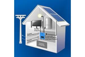 Сетевая система на Солнечных Батареях, 10кВт, 380В, AXIOMA energy