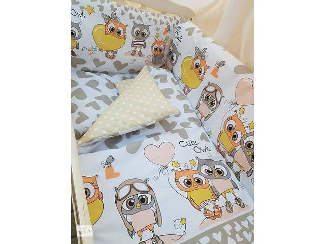 Детское постельное бельё в кроватку ТМ Bonna купон Бежевое- объявление о продаже  в Одессе