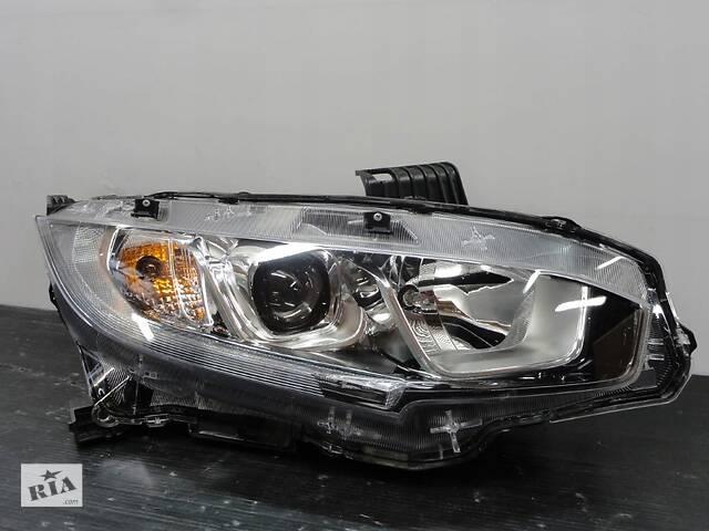 купить бу Honda civic x 16r+ правая фара линза светодиод/ led ory eu в Вольногорске