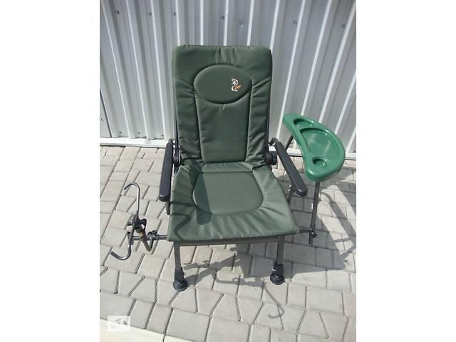 бу Карповое кресло в наличии Elektrostatyk с столиком F5R STP в Нововолинську