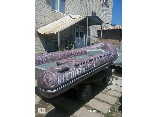 Надувная лодка с жестким алюминиевым дном, RIB-420/VALMEX. Новая!- объявление о продаже  в Харькове