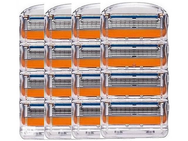 продам Бритвенные лезвия Gillettee Fusione (блок 4 шт) бу в Харькове