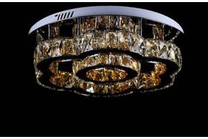 Светодиодная хрустальная люстра L78353/500/2 Led (CR)