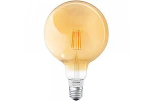 Светодиодная лампа LED Osram SMART LED Е27 5.5-60W 2700K 220V G125 FILAMENT GOLD Bluetooth 4058075174504