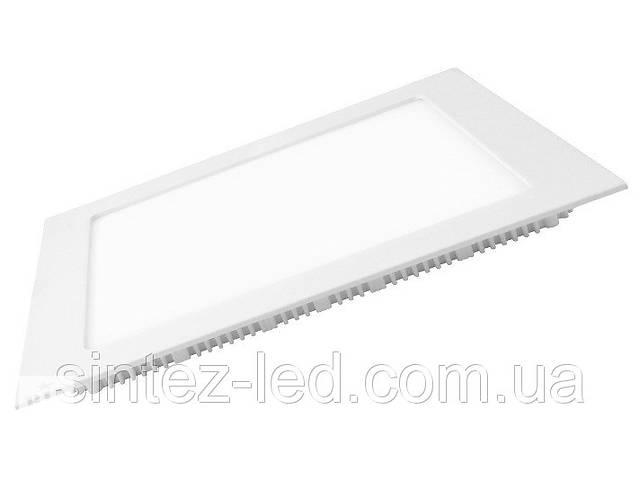 продам Светодиодная панель Eurolamp LED-PLS-12/3 12W 3000K (квадрат.бел.) Код.57890 бу в Киеве