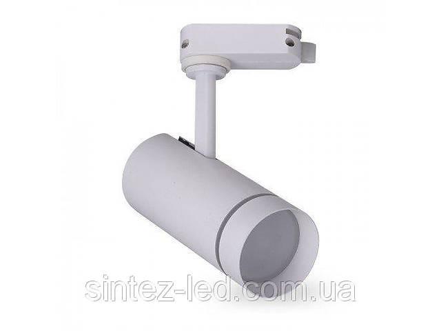 бу Светодиодный трековый светильник AL-106L 18W 3000К белый Код.59455 в Киеве