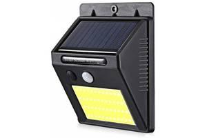 Уличный фонарь Cx1701 с датчиком движения на солнечной батарее 48 cob