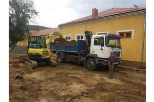 Оренда Послуги Навантажувача Екскаватора Вантажні перевезення Підготовчі роботи на будівництві. ФОП-3 група.