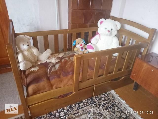 продам Детская кроватка- кровать Карина с бортиками защиты! бу в Киеве