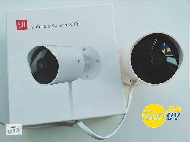 продам Original Xiaomi Yi Outdoor 1080 IP Camera Smart IP Camera умная камера наружного наблюдения бу в Рівному