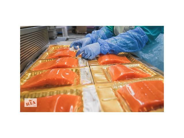купить бу Oбработка свежего лосося, нарезка, филетирование (работа в Польше)  в Україні