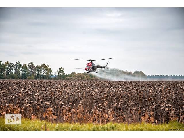 продам Десикация подсолнечника вертолетами и самолетами - сельхозавиация бу  в Украине