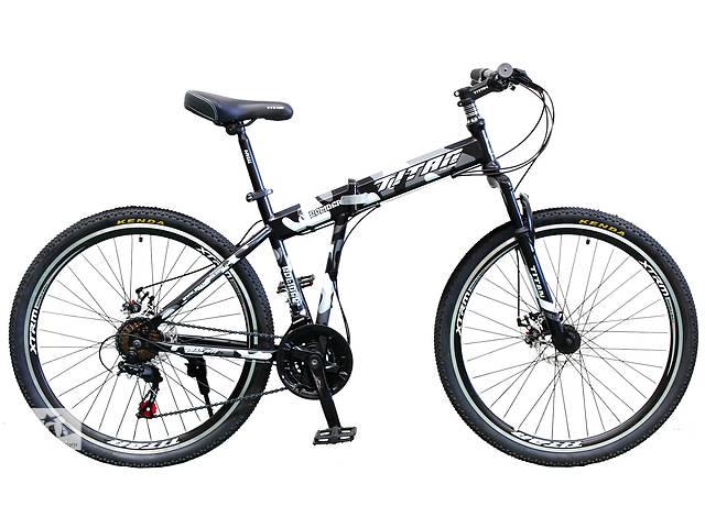"""купить бу Супер ціна!!! Складаний велосипед гірський 26"""" TITAN SOLIDER DD (Shimano, моноблок) в Слов'янську"""