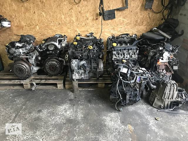 бу Б/у двигун для Renault Megane III 2009-2015 1.5DCI 1.9DCI на рено меган3 в Києві