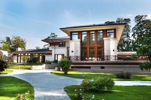 Індивідуальне проектування заміських будинків, котеджів, вілл, особняків.
