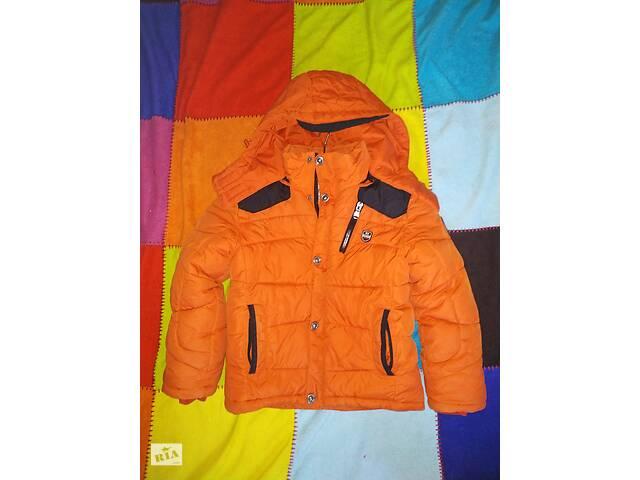 продам Куртка, курточка зимняя 116 р. бу в Перечине