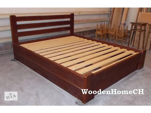 бу Двоспальне Ліжко з масиву дуба. Дубове ліжко, масив дерева масив дуба в Червонограді