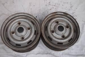 сталеві диски на 14 для Renault Trafic 1996рв на рено трафік опель арена 1997рв ціна 700гр один гарантія що без тріщин