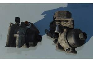 Б/у Корпус масляного фильтра с охладителем 2.2 Citroen Jumper Ситроен Джампер HDI с 2006 г. в.