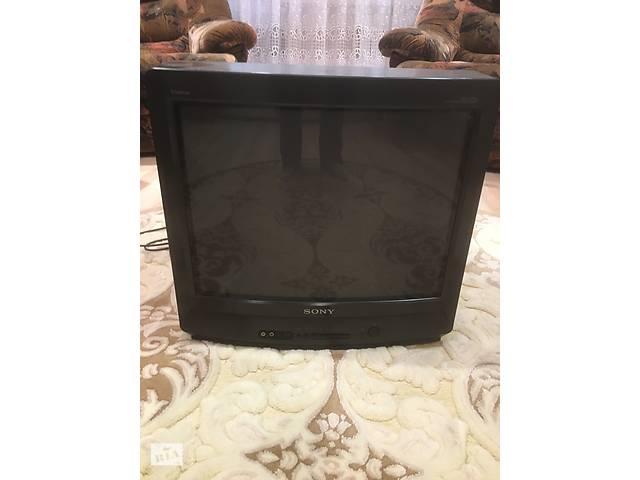 купить бу Продам рабочий цветной телевизор Sony Trinitron KV-G21M2. в Вишневом