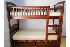 Двухъярусная кровать Карина с ящиками +матрасы.Акция!