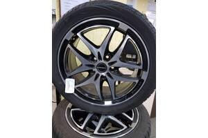Б/у диск диски титаны титани колесо Audi A6 A4 Passat B5 B6 B7 Golf R17 5 112 7J ET54 Borbet Борбет привезены с Германии