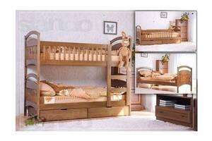 Акция!  Двухьярусные  кровати  с матрасами и ящиками.