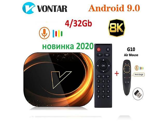 VONTAR X3, 4/32, тв бокс box, Голосовой пульт андроид 9, S905X3- объявление о продаже  в Киеве