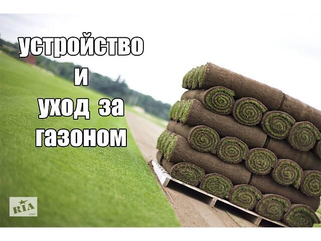 купить бу Устройство газона, рулонный газон, реставрация газона  в Киеве
