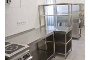 Меблі з нержавіючої сталі для ресторанів, кафе, барів, громадського харчування