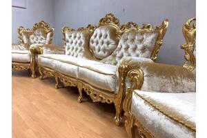 Комплект м'яких меблів бароко Morello Gianpaolo